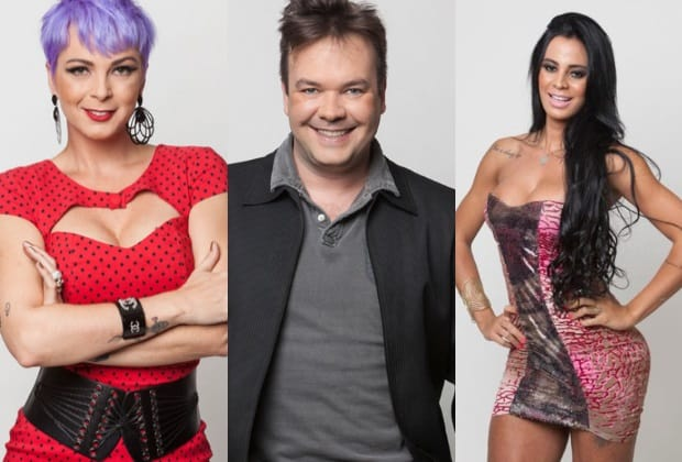 Bruna Tang, Felipeh Campos e Lorena Bueri formam a nova Roça dessa semana