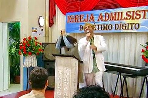 """Esquete do """"Zorra Total"""" causou revolta entre membros de Igreja"""
