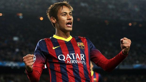 Neymar é uma das estrelas que jogam a Liga dos Campeões