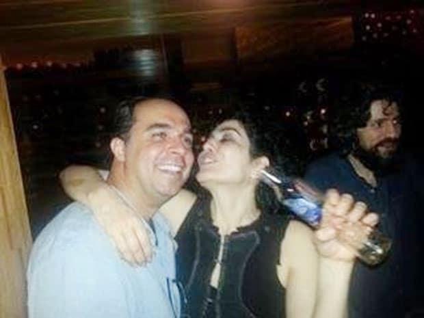"""Leticia Sabatella desabafa sobre fotos em que aparece bêbada: """"Me ..."""