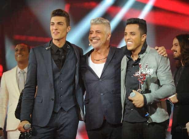 """Danilo Reis e Rafael, do Time de Lulu Santos, venceram o """"The Voice Brasil 3"""""""