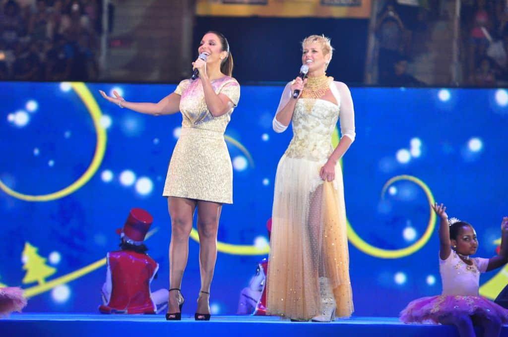 Ivete Sangalo e Xuxa cantaram em show especial