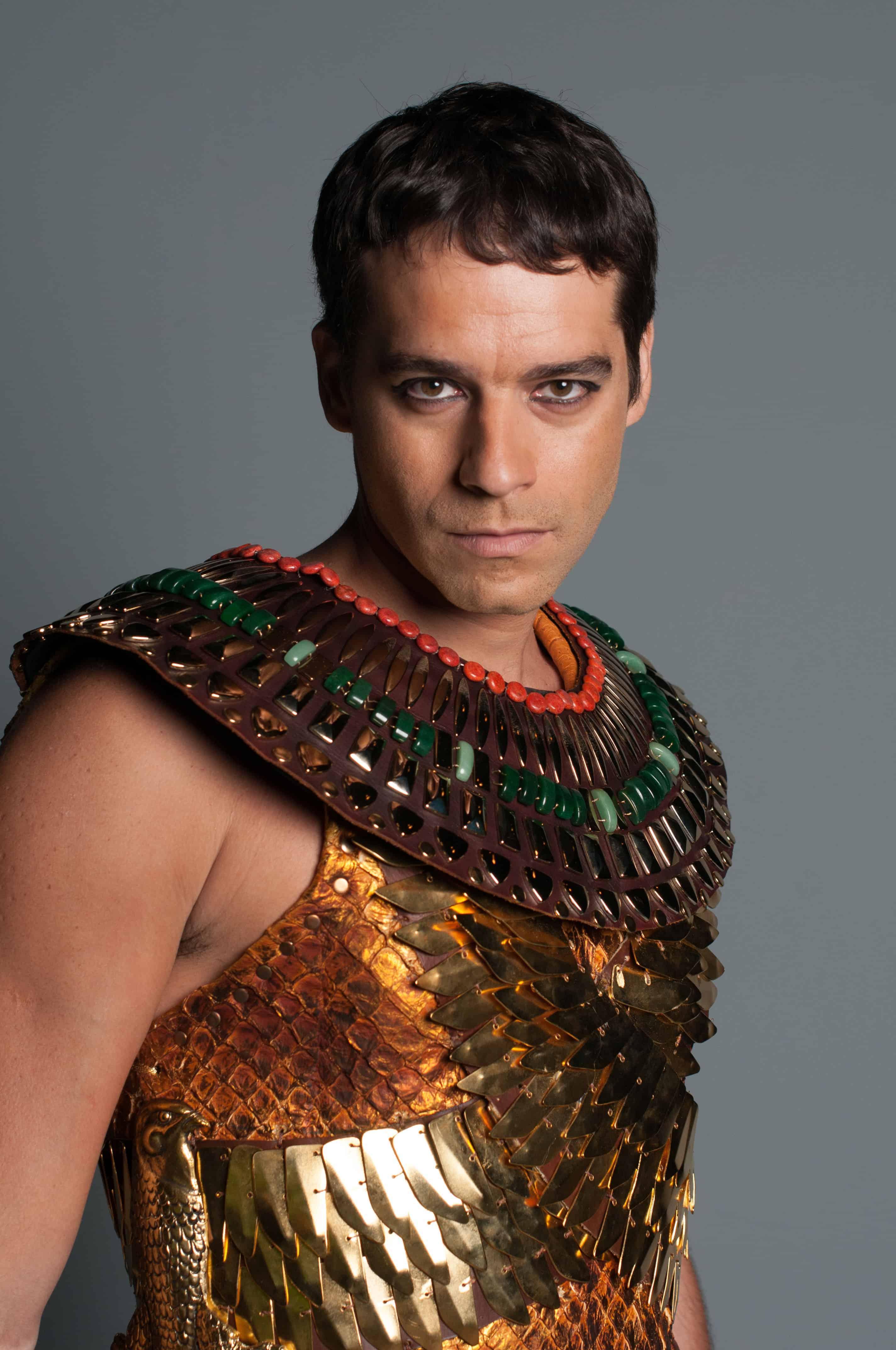 """Guilherme Winter é o protagonista de """"Os Dez Mandamentos"""""""