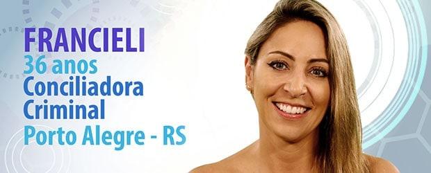 Francieli tem 36 anos e é de Porto Alegre