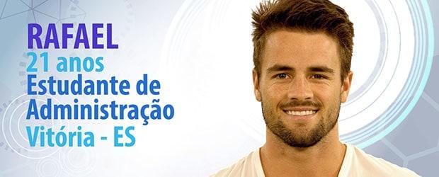 O ex-jogador de futebol Rafael também está entre os selecionados