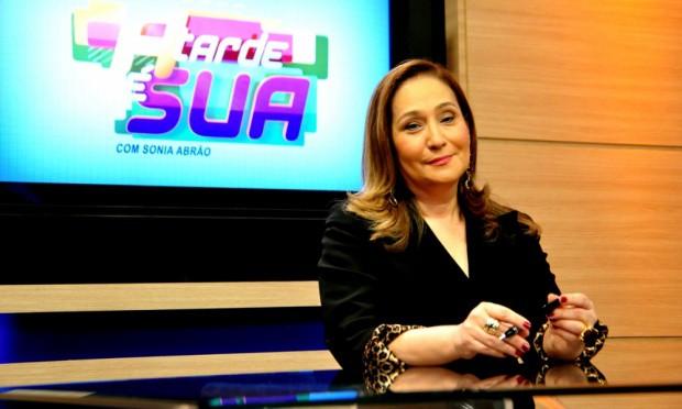 """Sonia Abrão comanda o """"A Tarde é Sua"""""""
