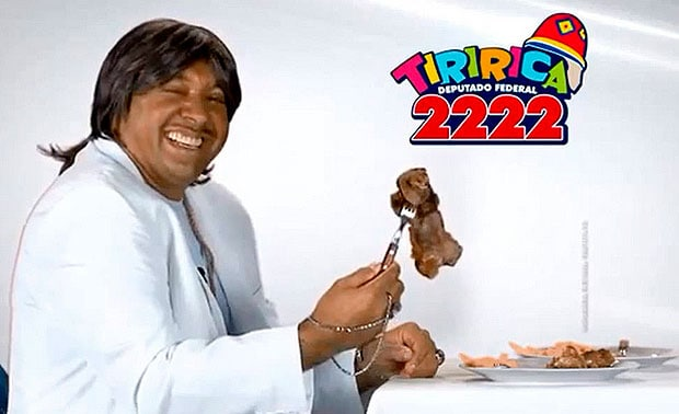 Tiririca é condenado a pagar indenização por usar canção de Roberto Carlos em campanha