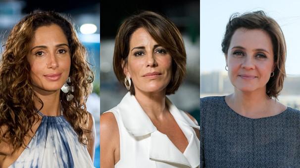 """Camila Pitanga, Gloria Pires e Adriana Esteves protagonizam """"Babilônia"""""""