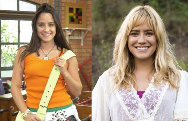 Fernanda Vasconcellos ficou loira para telefilme de Didi