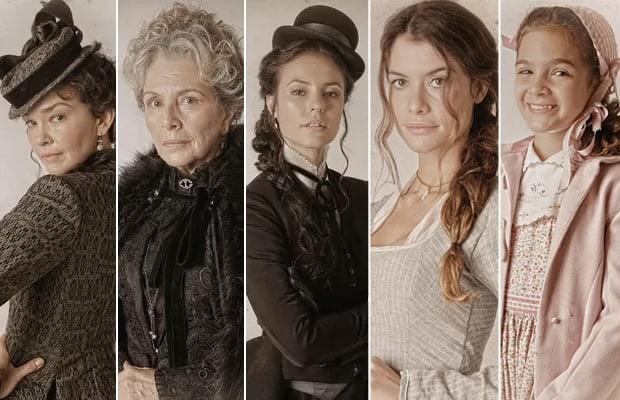 Julia Lemmertz, Irene Ravache, Paolla Oliveira, Alinne Moraes e Mel Maia