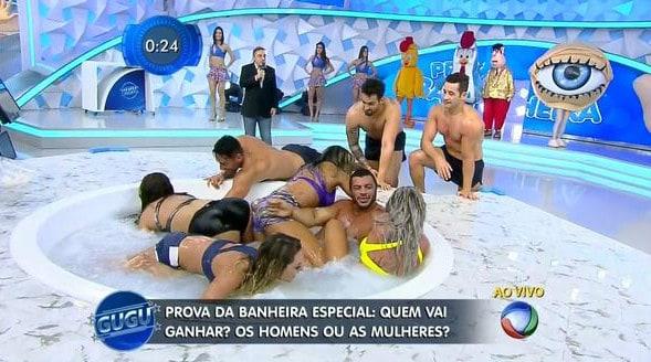 """""""Banheira do Gugu"""" voltou ao ar em versão """"gospel"""""""