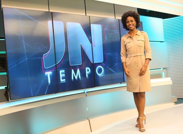 Maju Coutinho estreia como apresentadora de telejornal na Globo
