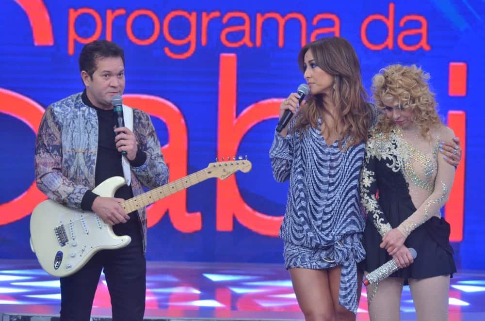 """Chimbinha e Joelma participaram do """"Programa da Sabrina"""""""
