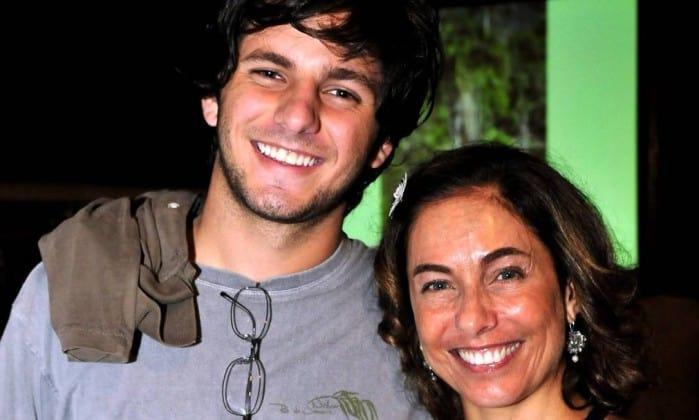 Rafael Mascarenhas e a mãe, Cissa Guimarães