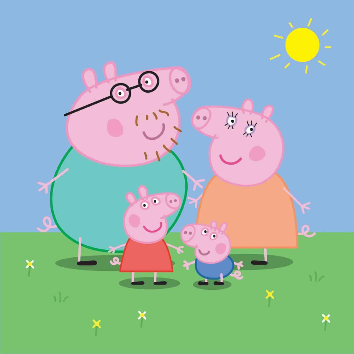 "Print ""Peppa Pig"" ..."