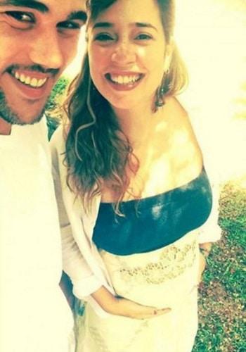 Bruno Ferrari e Paloma Duarte são pais de Antônio
