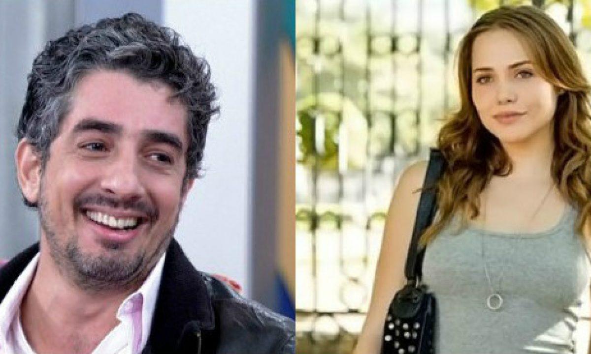 Michel Melamed e Letícia Colin são flagrados em clima de intimidade no  cinema