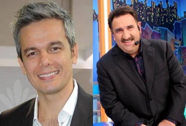 Otaviano Costa agradece Ratinho por divulgar Criança Esperança
