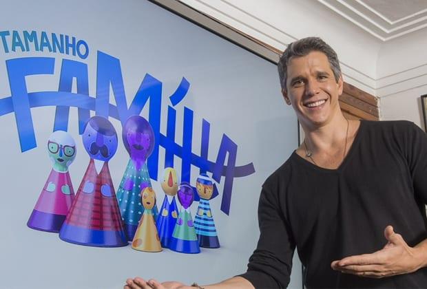 Márcio Garcia vai apresentar o novo dominical da Globo