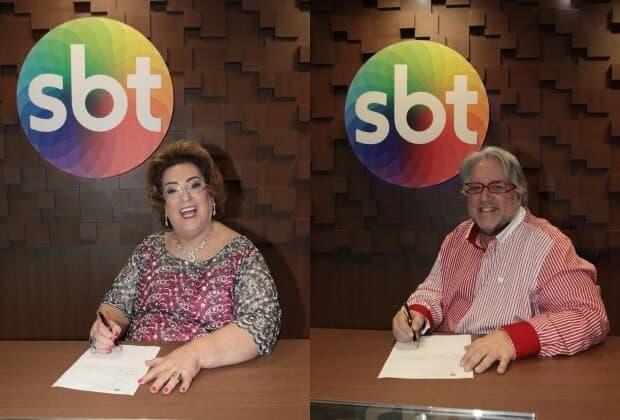 Mamma Bruschetta e Leão Lobo vão estrear na próxima segunda-feira (1°) no SBT