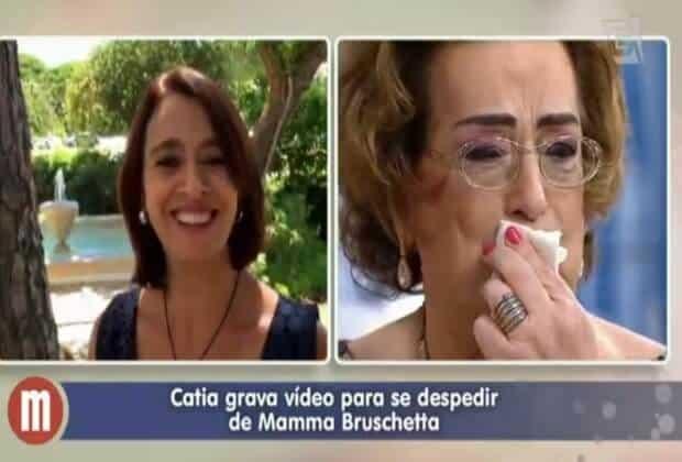 Cátia Fonseca emocionou Mamma Bruschetta com recado de despedida