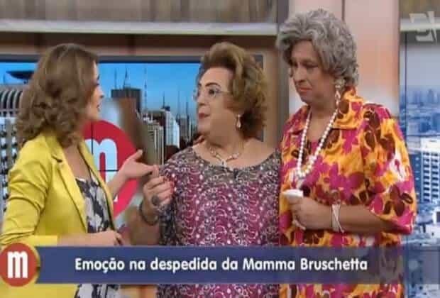 """ProgramaMamma Bruschetta participou do """"Mulheres"""" e falou sobre a sua saída da emissora"""
