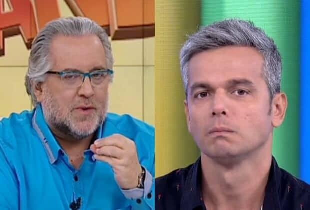 Concorrentes, Leão Lobo alfineta Otaviano Costa no Fofocando