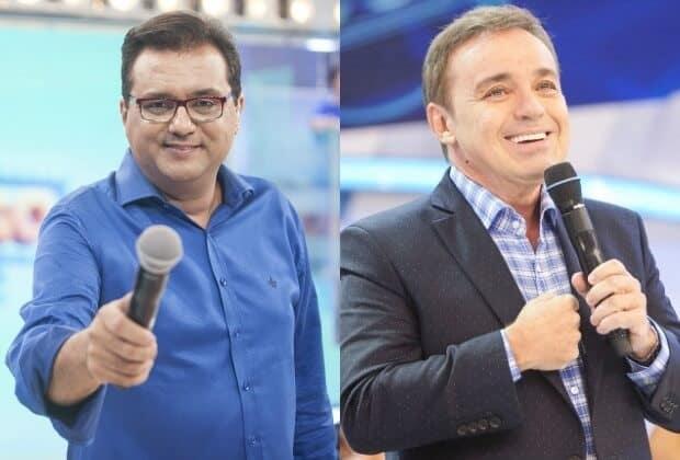 Geraldo Luís pode ganhar programa diário na Record; Gugu Liberato desperta atenção do SBT