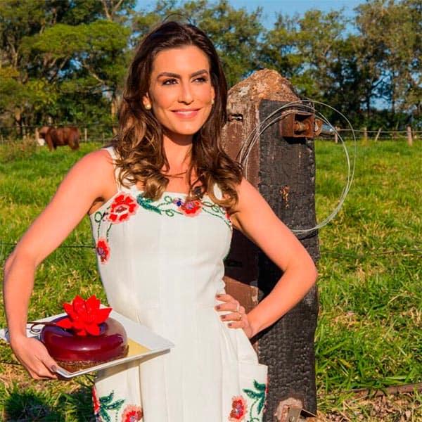 """Jurado do """"Bake Off"""" fala sobre Ticiana Villas Boas: """"Ela está arrasada"""""""