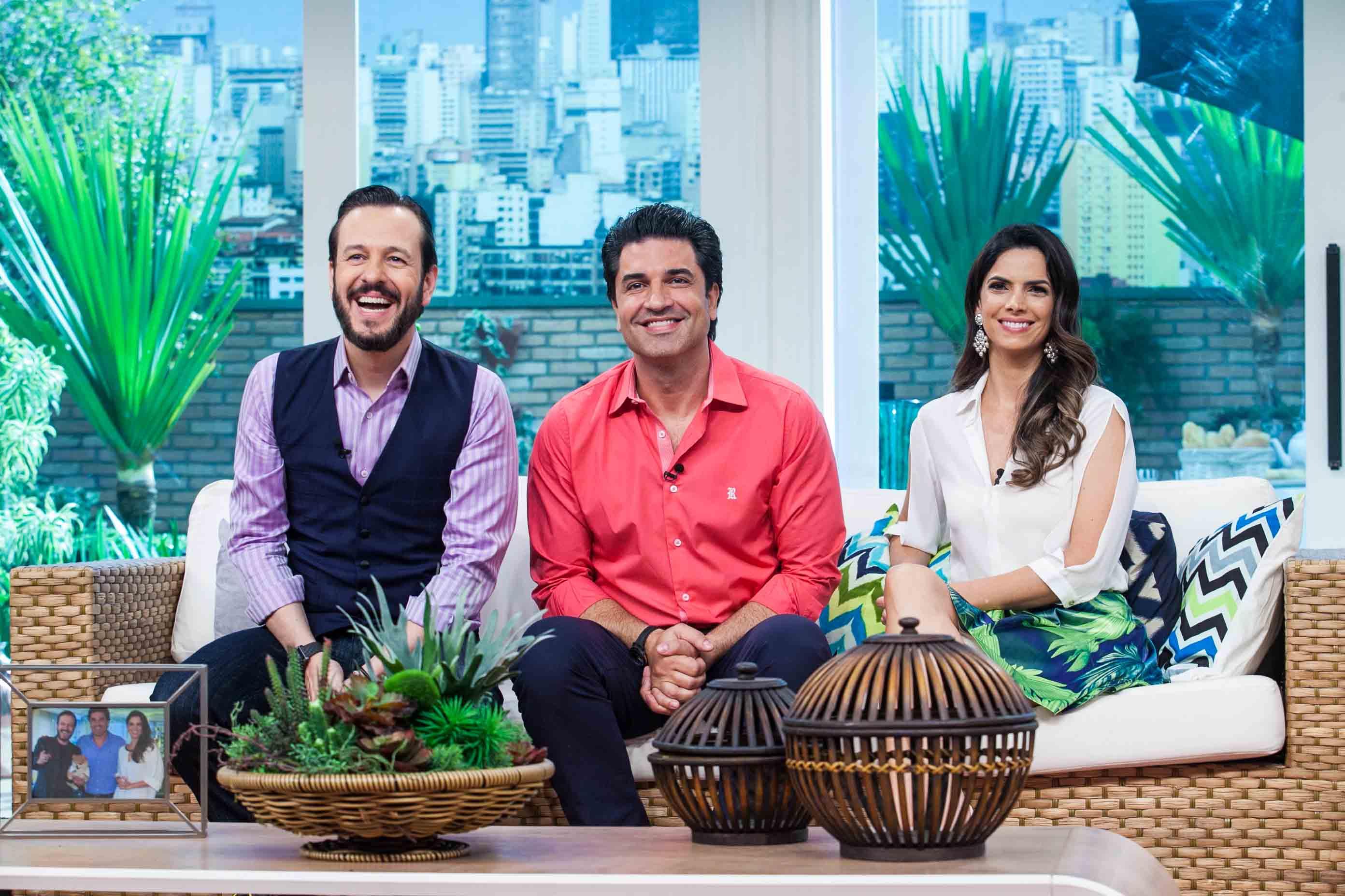 Celso Zucatelli, Edu Guedes e Mariana Leão MPV