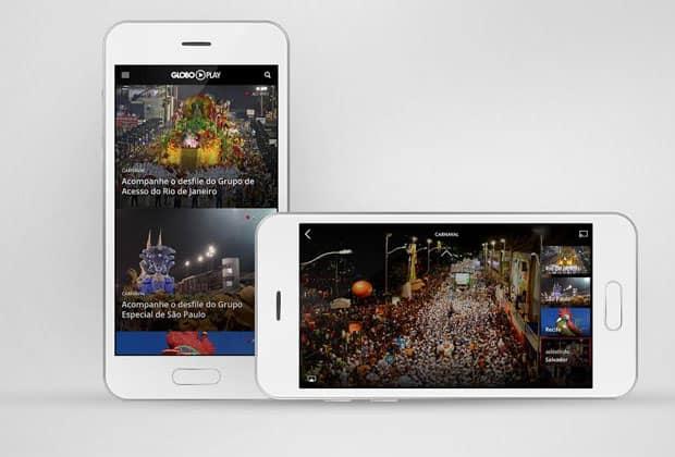 Aplicativo terá transmissão simultânea do carnaval de quatro cidades brasileiras: São Paulo, Rio, Salvador e Recife