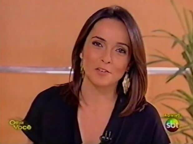 """Izabella Camargo comandou a fase final do """"Olha Você""""."""