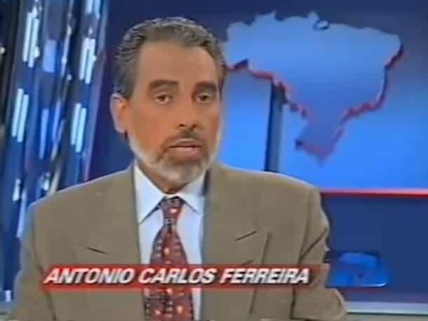 """Tonico Ferreira apresentando o """"TJ Brasil""""."""