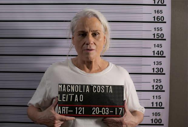 """Magnólia será presa pelos assassinatos de Elio e Beth, nos próximos capítulos de """"A Lei do Amor"""""""