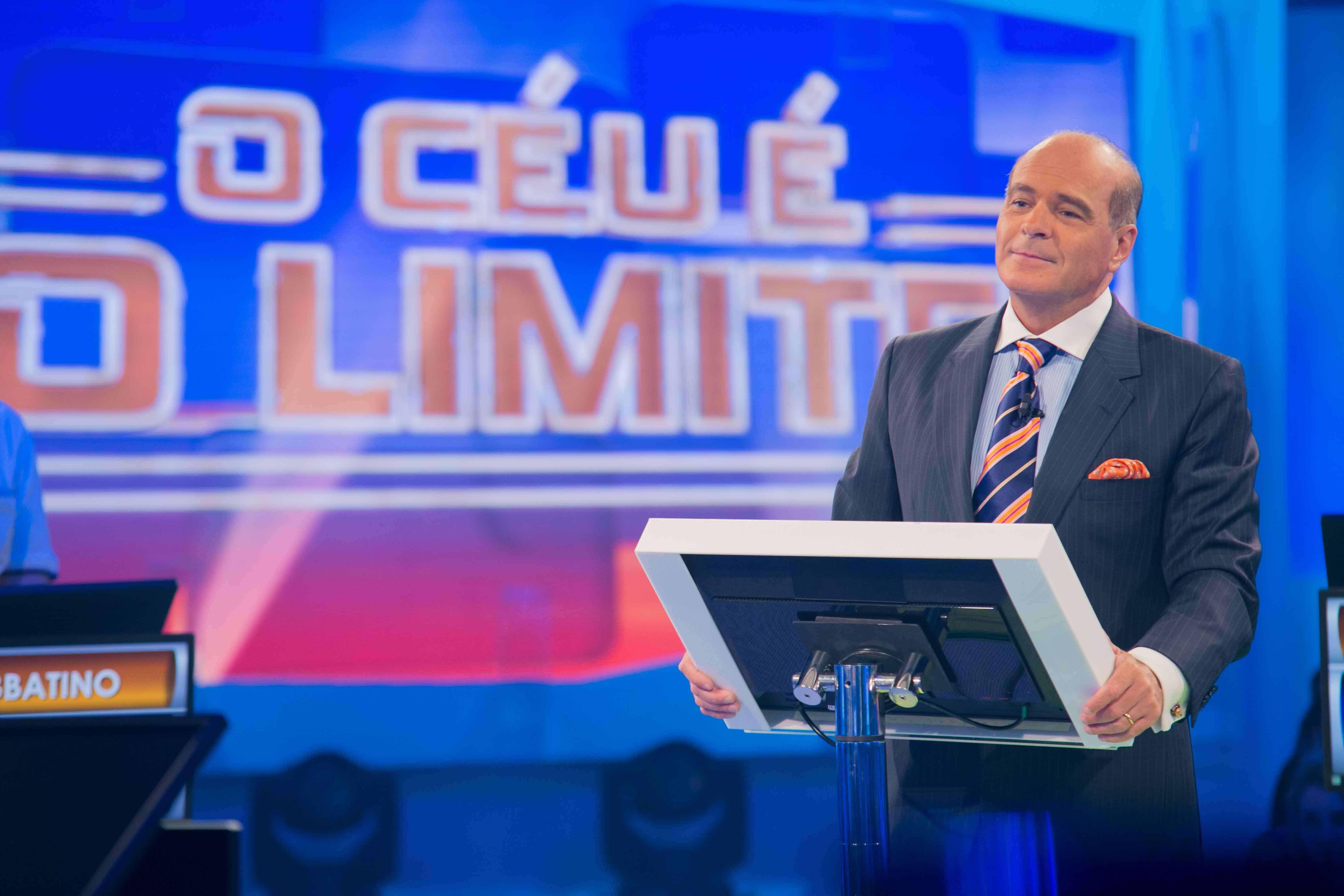 """Marcelo de Carvalho no comando de """"O Céu é o Limite"""", estreia de sábado (11) na RedeTV!"""