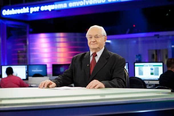 Boris Casoy comete gafe e chama Fernando Haddad de forma inusitada em telejornal