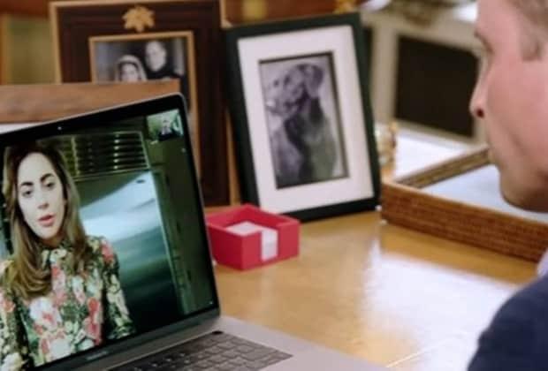 Lady Gaga e Príncipe William batem papo sobre saúde mental nas redes sociais