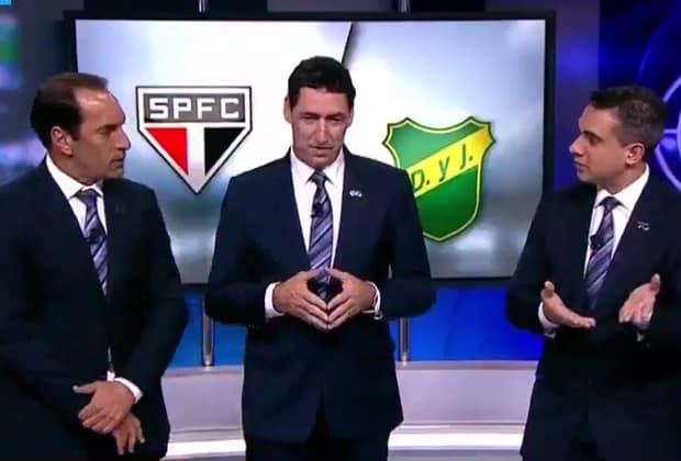 Edmundo e PVC se estranham em transmissão da Fox Sports
