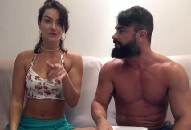 """Laura Keller e Jorge Sousa """"causam"""" com sexo a três"""