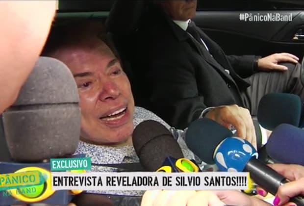 """Silvio Santos alfineta Rachel Sheherazade, fala que neto é """"comedor"""" e diz que Sônia Abrão é a única coisa boa da RedeTV!"""