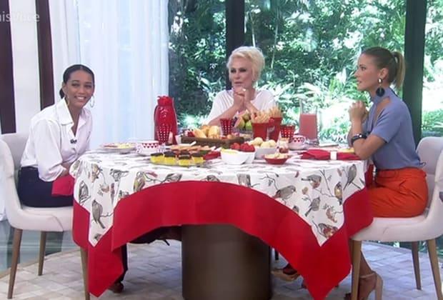 Taís Araújo se recusa a provar prato feito por Ana Maria Braga