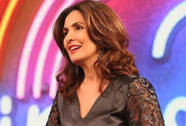 """Fátima Bernardes revela """"empurrãozinho"""" de Faustão para ela virar apresentadora"""