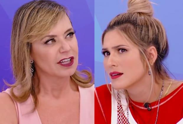 """Livia Andrade fala de Maisa e bate-boca com Flor no """"Programa Silvio Santos"""": """"Uma senhora com um comentário machista e escroto"""""""
