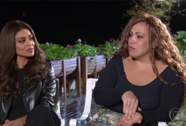 """Juliana Paes conhece Bibi Perigosa da """"vida real"""" e fala sobre personagem de """"A Força do Querer"""""""