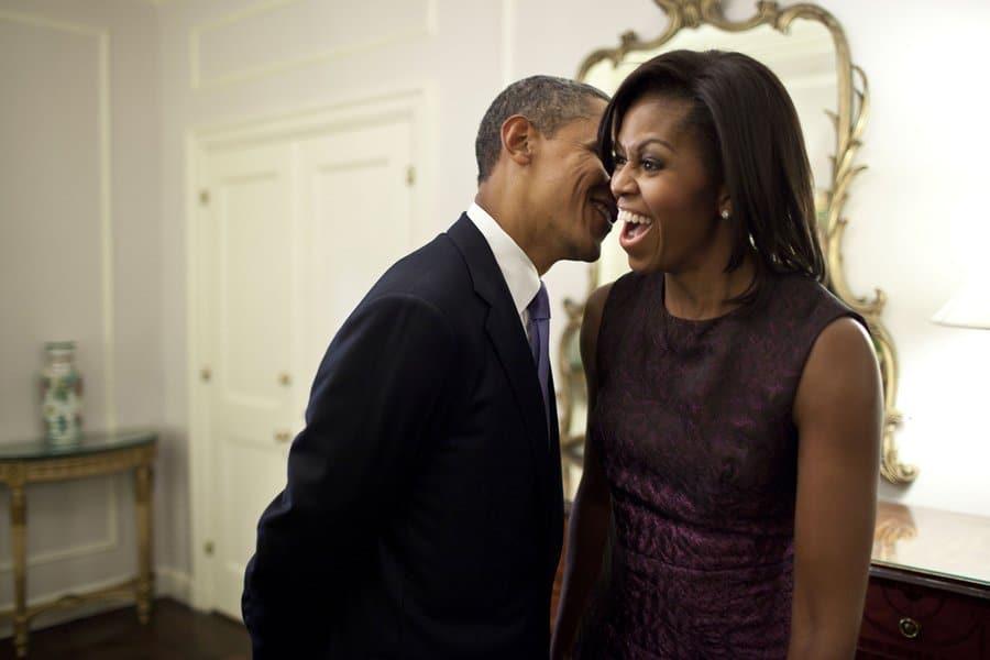 Michelle Obama desmente rumores de divórcio com mensagem nas redes sociais