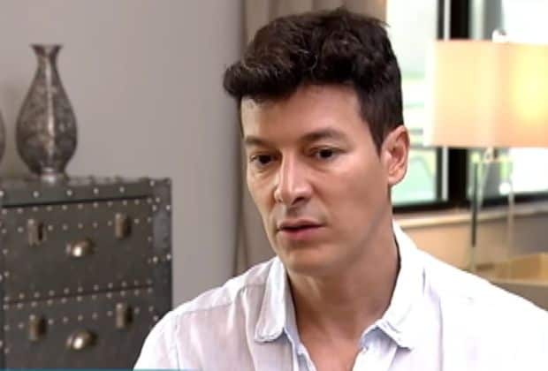 Rodrigo Faro chora ao falar sobre morte do pai quando ele era criança
