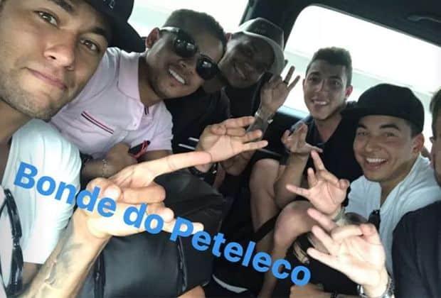 Neymar e 'parças' tomam 'bronca' do Detran após post no Instagram