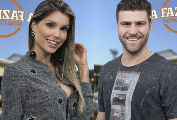 """Enquete """"A Fazenda"""": Quem deve ficar, Flávia Viana ou Marcelo Ié Ié? (veja a parcial)"""