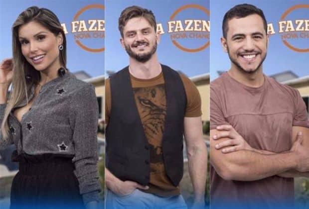 """Ex-BBBs, Flavia, Marcos e Matheus disputam final de """"A Fazenda - Nova Chance"""""""