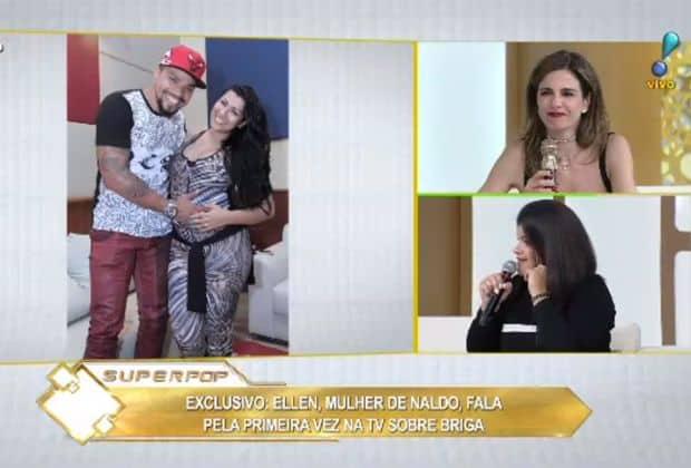 Ex de Naldo, Moranguinho e Branka Silva, briga feio em rede nacional
